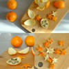 Egyszerű karácsonyi ötlet narancsból