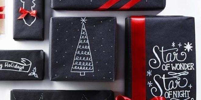 Karácsonyi csomagolás ötlet