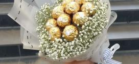 Bonbon csokor házilag