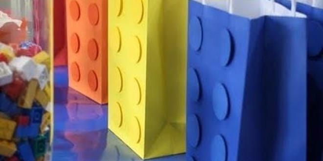 Lego ajándéktasak pár perc alatt