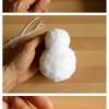 Pompom hóember