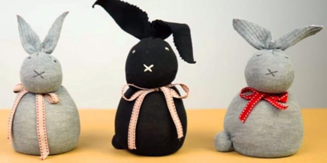 Húsvéti ajándék nyuszi – DIY videó