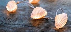 Kagylóból hangulatvilágítás