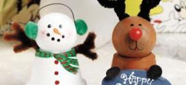 Karácsonyi cserépfigurák