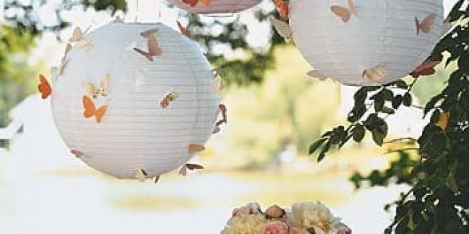 Gyors pillangós dekoráció