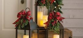 12 karácsonyi lámpás ötlet