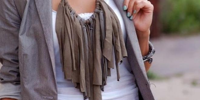 Divatos nyaklánc egyszerűen, saját kezűleg