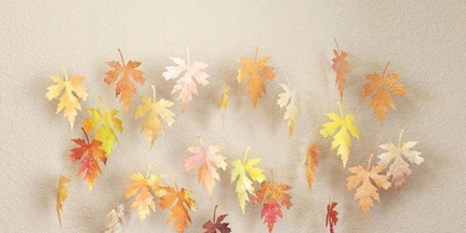 Egyszerű őszi dekoráció