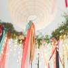 Légies esküvői dekoráció fillérekből