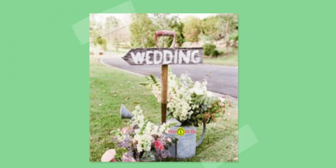 Esküvői dekoráció ötlet