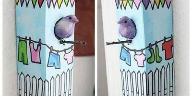 Vidám madáretető ötletek
