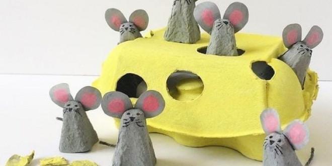 10+1 kreatív ötlet tojástartóból gyereknapra