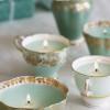 Csészéből vintage mécses