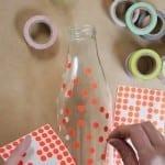 üveg dekorálása