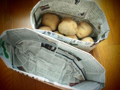 papír tartó zöldségeknek