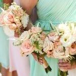 Csodaszép esküvői csokrok